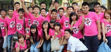 Đồng phục áo thun cho học sinh